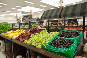 produce at Ambarella's fresh fruit and vegetable store