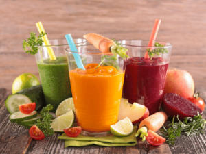 Fresh Juice available at Ambarella's Juice Bar